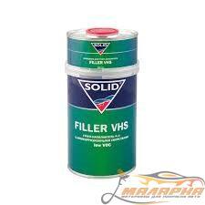 SOLID FILLER VHS LOW VOC 4+1 ГРУНТ АКРИЛОВЫЙ, 1 Л. + 0,25 Л.