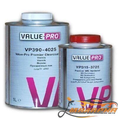 PPG Value Pro MS Прозрачный лак PREMIER