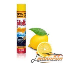"""Полироль для пластика """"Plak"""" Atas 750 мл (лимон)"""