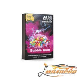 Ароматизатор AVS US-003 Super Fresh (аром. Бабл гам/Bubble gum) (гелевый)