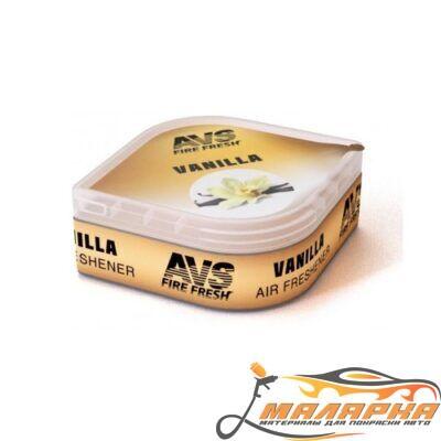 Ароматизатор AVS LGC-001 Fresh Box (аром. Ваниль/Vanilla) (гелевый)