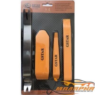 Набор из 4 инструментов для дверных карт аудиосистем и других элементов GSTAR GS-004