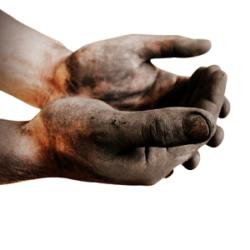Для очистки рук