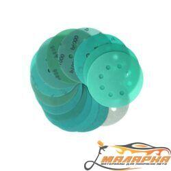 Круг VX-Green 120мм Р80 8 отв зеленый